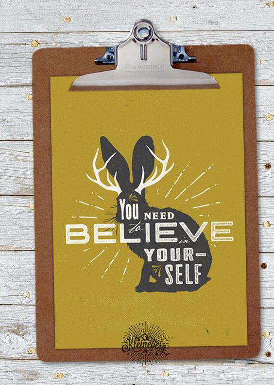 Small Print: I Believe in Jackalopes by Kleineberg on Etsy https://www.etsy.com/listing/204144211/small-print-i-believe-in-jackalopes: