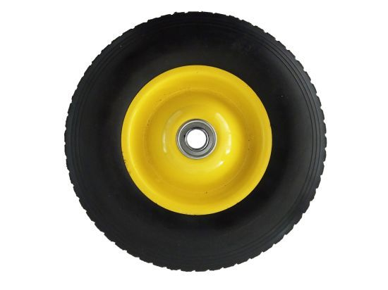 Hot Item New Design 10 Inch Solid Rubber Tire And Solid Wheels With Steel Rim For Lawn Mower Rubber Tires Steel Rims Tire