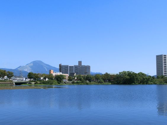 Biwako (Biwa Lake)  The biggest lake in Japan located in Shiga Prefecture