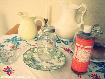 "HappilyDomestic: Do it Yourself- Homemade Dish ""Soap"""