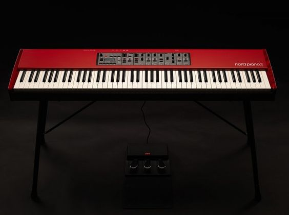 The Nord Piano 2 HA88   (2012NAMM Show Preview)
