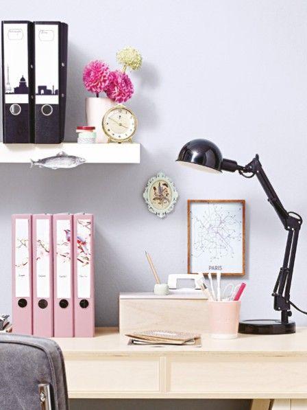 Wir machen Ihr Büro hübsch! Ausdrucken, ausschneiden und aufkleben: Etiketten für Ordnerrücken.