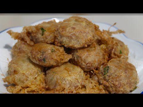 Resep Perkedel Kentang Youtube Resep Masakan Resep Kentang