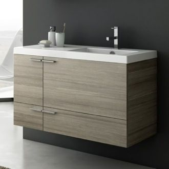 Bathroom Vanity 39 Inch Vanity Cabinet With Fitted Sink ANS45 ACF ...