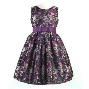 Dark colored camo dress