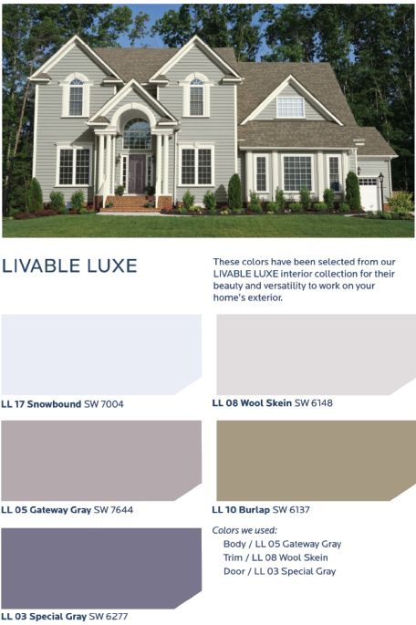 Get a refined relaxed and elegance contrasted look with - Hgtv exterior paint color schemes ...