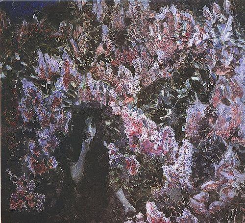 Vrubel, Mikhail (1856-1910) - 1900 Lilac (Tretyakov Gallery) by RasMarley, via Flickr
