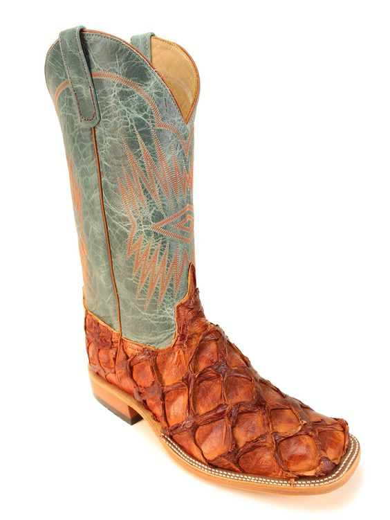 Mens Anderson Bean Exclusive Cognac Big Bass Boots 8183L - Texas ...