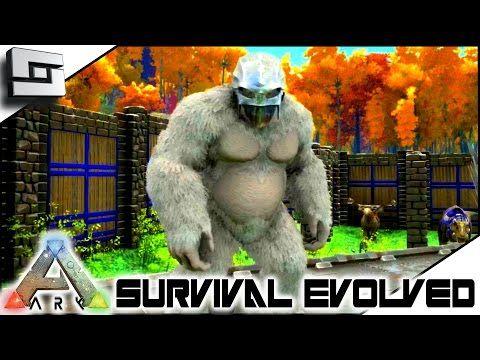 Sl1pg8r. ARK: Survival Evolved   NEW GIGANTOPITHECUS TAMING! S2E107 (  Gameplay )   YouTube