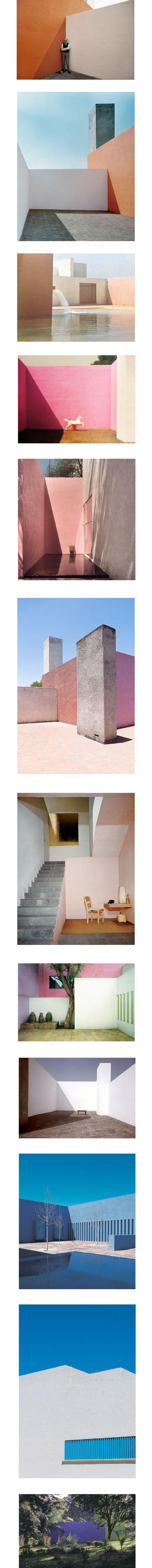 Luis Barragan, architecte mexicain (1902-1988) like Alice in Wonderland !
