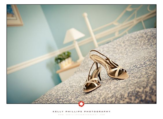 wedding shoes - Kelly Phillips Photography
