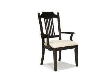 Shop for Legacy Classic Furniture Pleasant Grove Spindle Arm Chair Java, 2301-241, and other Dining Room Chairs at Bennington Furniture in Rutland Vermont, Bennington Vermont, Manchester Vermont, , and West Dover, Vermont. Casual style constructed with pine solids and knotty pine veneers in a java finish.