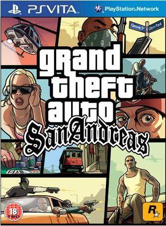 GTA San Andreas Ps vita iso gratuit
