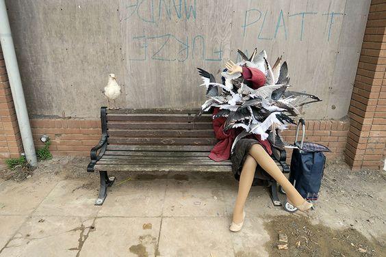 Juxtapoz Magazine Preview Inside Banksy S Dismaland Tropicana Weston Super Mare Banksy Art Banksy Theme Park Street Art