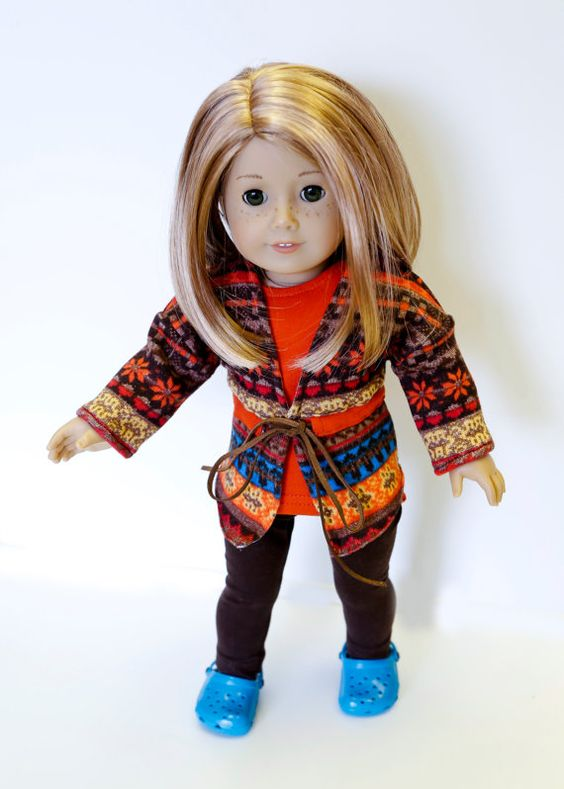 American made Girl Doll Clothes 18 inch Doll by AdollablebyRita