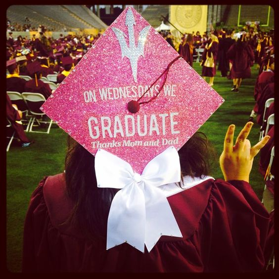 Graduation Cap Clever Girl: Pinterest • The World's Catalog Of Ideas
