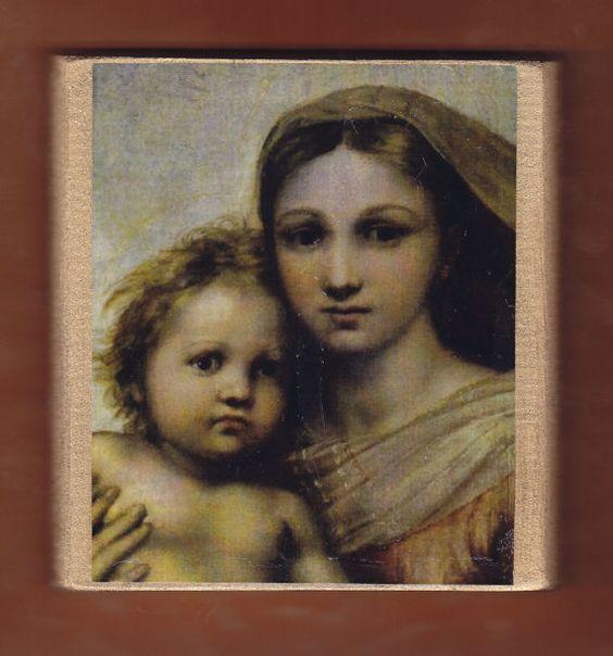 Virgin MaryRaffaeloLa Madonna Sistina. by teogonia on Etsy