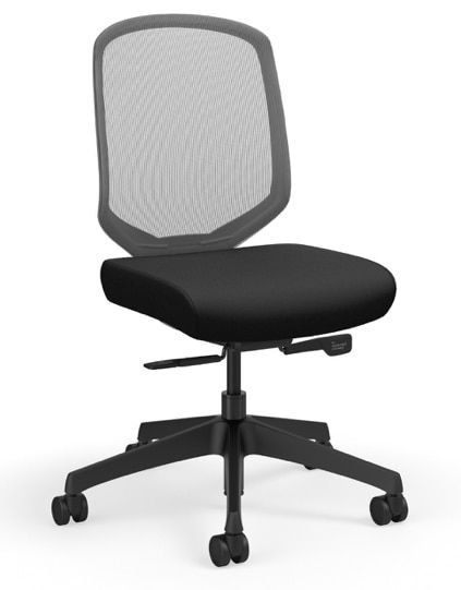 Ki Armless Diem Weight Activated Task Chair In 2020 Ergonomic
