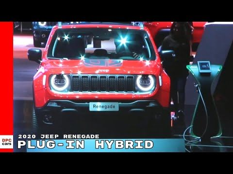 236 2020 Jeep Renegade Plug In Hybrid Electric Phev Youtube