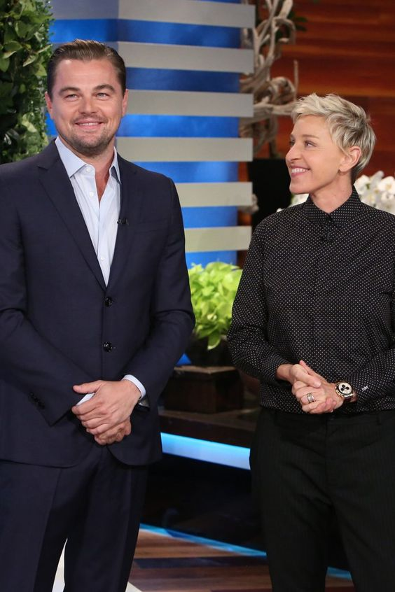 Here Are Some Grown Women Screaming When Leonardo DiCaprio Surprises Ellen DeGeneres' Audience