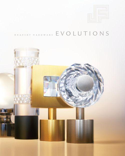Evolutions Drapery Hardware Crystal Curtains Custom Drapery