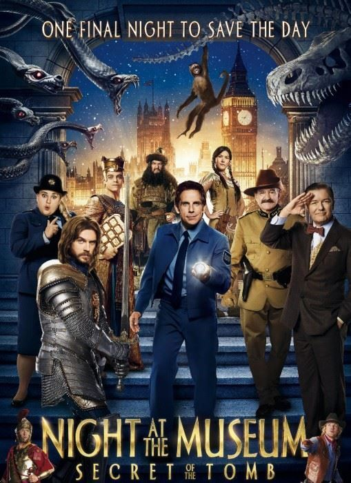 412 Night At The Museum Secret Of The Tomb 2014 720p Bluray