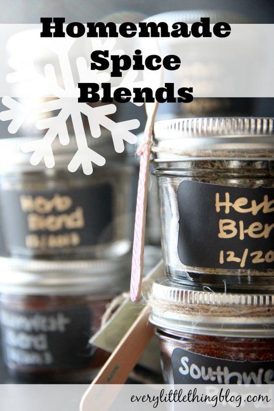 Homemade Spice Blends | everylittlethingblog.com