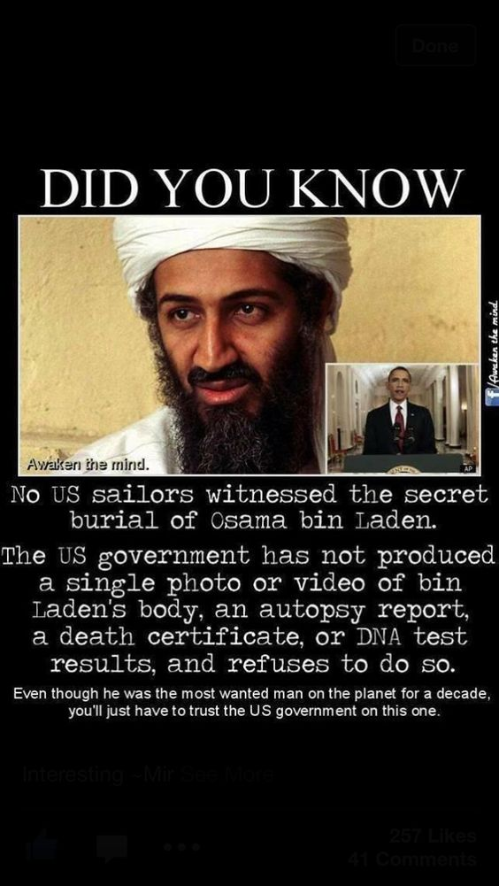 Osama Bin Laden Truth - Most of the Seal Team 6 members from the raid are now dead including their Commander