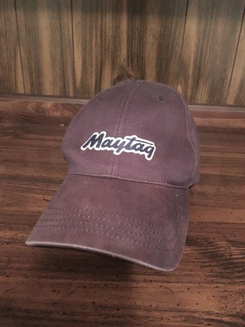 Maytag Appliance Employee Repair Strapback Hat Cap Advertising Logo Uniform Ebay Advertising Logo Logo Uniforms Maytag Appliances