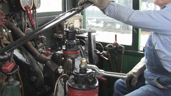 Shay Locomotive Cab Ride - Westside Lumber 12