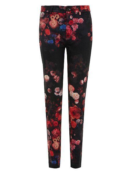 The Funky Florals Peg Leg Trousers