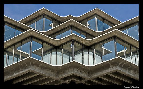 Funky architecture.