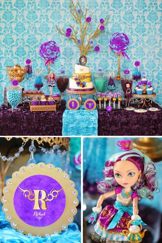 Modinha Pitchú: Mãeee quero festejar meu aniversário com as bonecas Ever After High