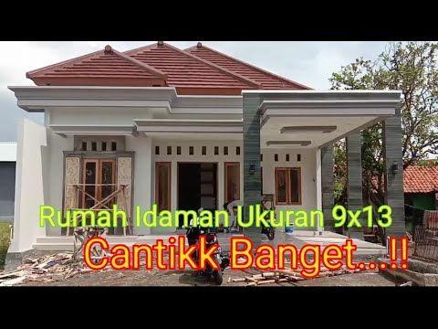 Rumah Minimalis 2020 Ukuran 9x13 Youtube Rumah Minimalis Desain Rumah Bungalow Desain Rumah Desa