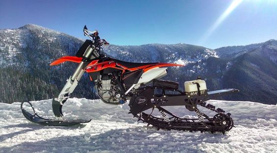 With his freestyle snow bike bolted to a modified ski, Reagan Sieg combines the best aspects of motocross and snowmobiling in the Canadian backcountry.