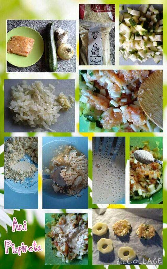 Comiendo y Creciendo con Lía: 7 meses. Bolitas de arroz y quinoa, hamburguesas de pollo y calabacin, macarrones con salsa, croquetas de pavo y pimiento, cous cous con pollo y verduras, hamburguesas de garbanzos