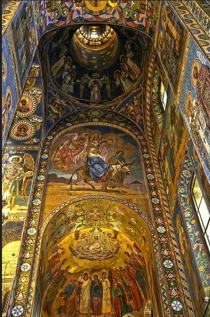 Cathedral of the Resurrection of Christ (Church of the Saviour of the Spilled Blood) St.Petersburg