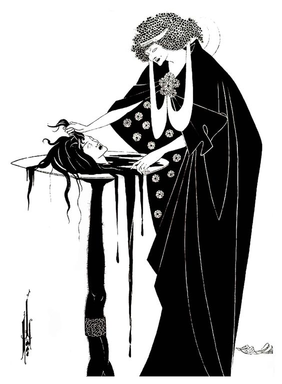 Aubrey Beardsley - The Dancer's Reward (1894)