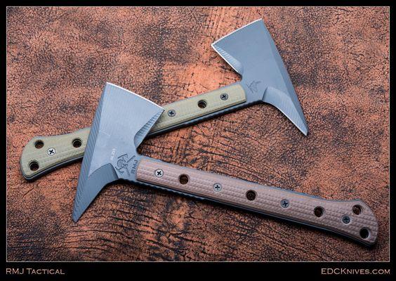 Jenny Wren Tamahawk (Earth Brown) RMJ Tactical http://www.rmjtactical.com/jenny-wren-spike/