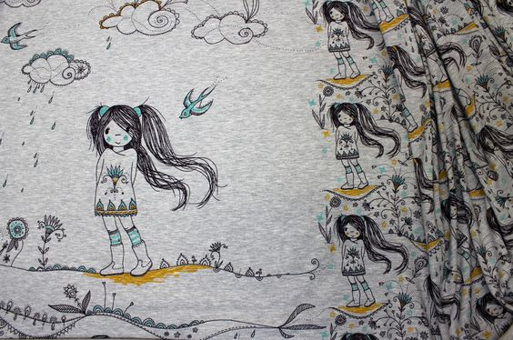 Rapport-Biojersey-Manga Girl-Susalabim-lillestoff auf alles-fuer-selbermacher.de