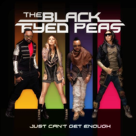 The Black Eyed Peas – Just Can't Get Enough (single cover art)