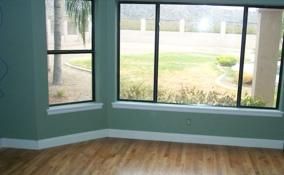 Stained Trim Window And Window Casing On Pinterest