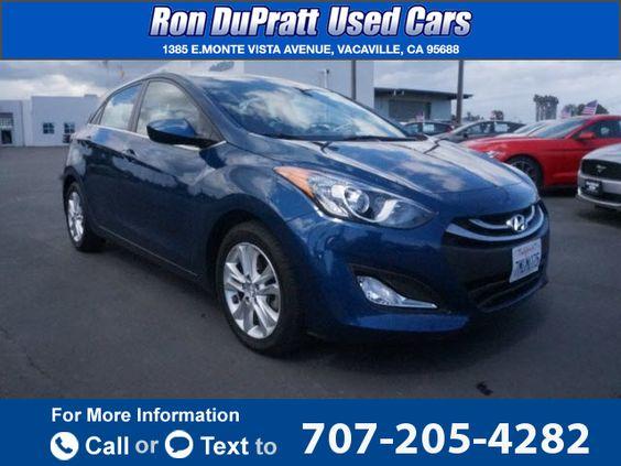 2014 *Hyundai*  *Elantra* *GT*   42k miles Call for Price 42370 miles 707-205-4282 Transmission: Automatic  #Hyundai #Elantra GT #used #cars #RonDuprattUsedCars #Vacaville #CA #tapcars