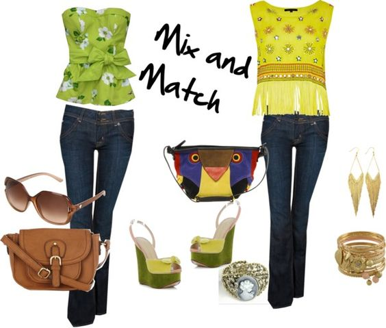 """""""Mix and Match"""" by shanaaya on Polyvore"""