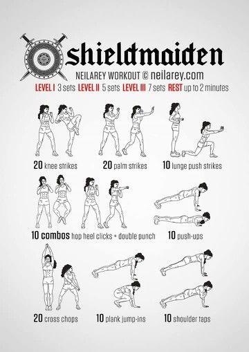 Shield maiden workout: