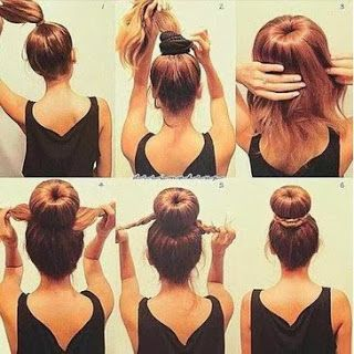 Groovy Pony Tails Hairstyles For School And Your Hair On Pinterest Short Hairstyles Gunalazisus