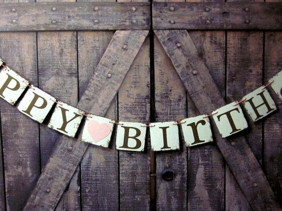 Bannière anniversaire signes de fête par WineCountryBanners