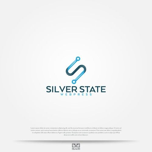 Create A Crisp Design With A Technology Feel For Silver State Webpress Logo Logo Branding Identity Brand Identity Pack Logo Branding