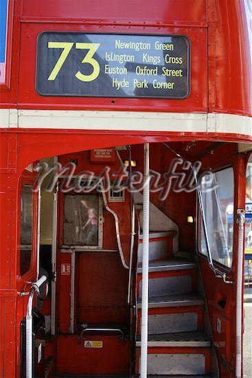 Double Decker bus. Love the inside! Would love to walk up those ...