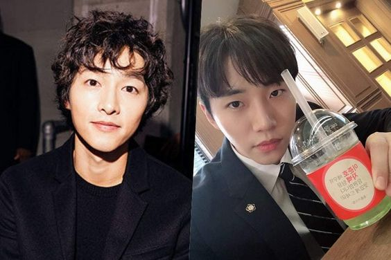 "Song Joong Ki Shows Support For 2PM's Junho And His Drama ""Confession"""
